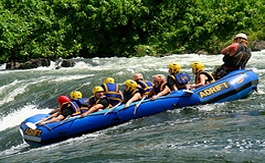 whitewater rafting Uganda short day trip