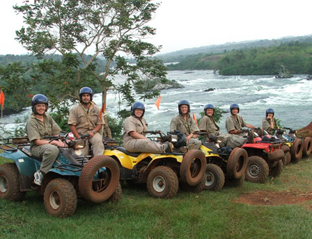 Quad Biking in Uganda