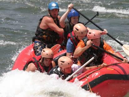Water Rafting in Uganda